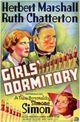 Affiche Dortoir de jeunes filles