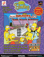 Jaquette The Simpsons Bowling