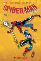 Couverture 1981 - Spider-Man Team-Up : L'Intégrale, tome 8
