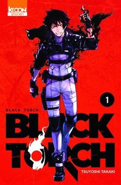Couverture Black Torch, tome 1