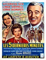 Affiche Les Cinq Dernières Minutes
