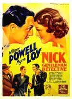 Affiche Nick, gentleman détective