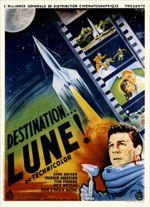 Affiche Destination... Lune !