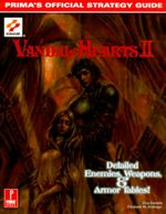 Couverture Vandal Hearts II: Detailed Enemies, Weapons & Armor Tables!