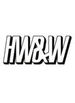 Logo Huh What & Where Recordings