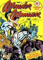 Couverture Les origines de Wonder Woman