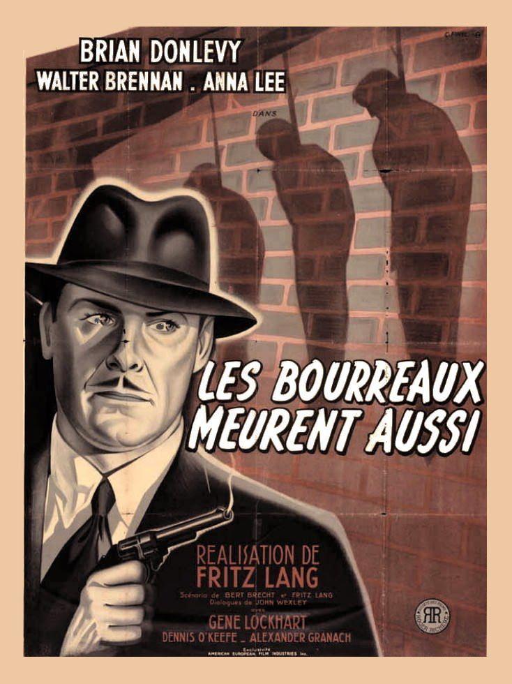 Affiche du film Les Bourreaux meurent aussi