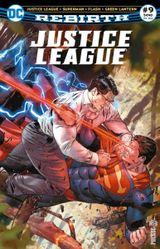 Couverture Justice League Rebirth (DC Presse), tome 9