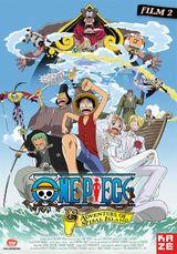 Affiche One Piece : L'Aventure de l'île de l'horloge