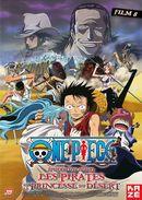 Affiche One Piece : Les Pirates et la Princesse du Désert