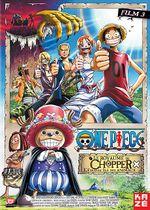 Affiche One Piece : Le Royaume de Chopper, l'île des bêtes étranges