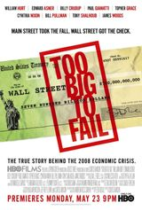 Affiche Too Big to Fail : Débâcle à Wall Street