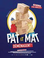 Affiche Pat et Mat déménagent !