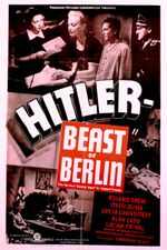 Affiche Hitler - Beast of Berlin