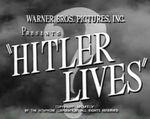 Affiche Hitler Lives!