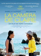 Affiche La Caméra de Claire