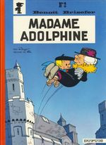 Couverture Madame Adolphine - Benoît Brisefer, tome 2