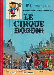 Couverture Le Cirque Bodoni - Benoît Brisefer, tome 5