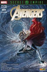 Couverture Secret Empire - Avengers (Marvel France 5e série), tome 9