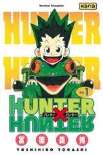 Couverture Le Jour du départ - Hunter X Hunter, tome 1
