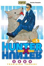 Couverture Jin Freecss - Hunter X Hunter, tome 5