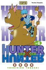 Couverture La Condition d'Hisoka - Hunter X Hunter, tome 6