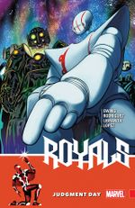 Couverture Royals (2017), tome 2