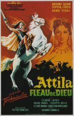 Affiche Attila, fléau de Dieu
