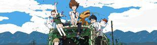 Cover Intégrale de Digimon Adventure Tri