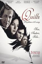 Affiche Quills, la plume et le sang