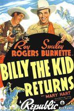 Affiche Le Retour de Billy the Kid
