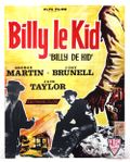 Affiche Billy le Kid