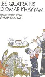 Couverture Les Quatrains d'Omar Khayyam