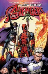 Couverture L'Homme tombé du ciel - All-New Uncanny Avengers, tome 2