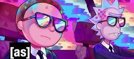 Vidéo LE CLIP DU JOUR : Rick & Morty se la jouent Men In Black dans le nouveau clip de Run The Jewels