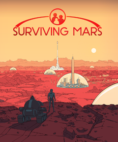 Jaquette Surviving Mars