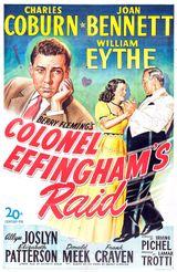 Affiche Colonel Effingham's Raid