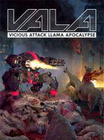 Jaquette VALA - Vicious Attack Llama Apocalypse