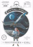 Couverture Les Naufragés du ciel - Le Château des étoiles, tome 4