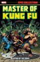 Couverture Weapon of the Soul - Master of Kung Fu Epic Collection, tome 1