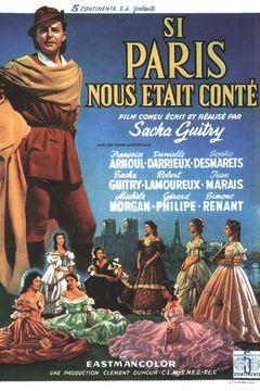 Affiche Si Paris nous était conté