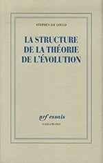 Couverture La Structure de la théorie de l'évolution