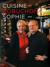 Couverture La Cuisine de Robuchon par Sophie