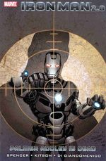 Couverture Iron Man 2.0 : Palmer Addley is Dead