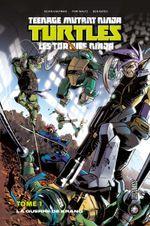 Couverture La Guerre de Krang - Les Tortues Ninja, tome 1