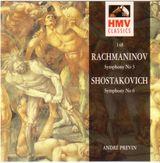 Pochette Rachmaninov: Symphony no. 3 / Shostakovich: Symphony no. 6