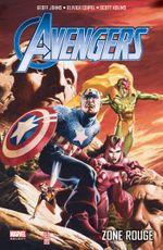 Couverture Zone Rouge - Avengers Par Geoff Johns, tome 2