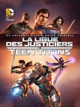 Affiche La Ligue des Justiciers vs Teen Titans