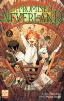 Couverture The Promised Neverland, tome 2