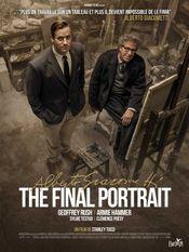 Affiche Alberto Giacometti, The Final Portrait